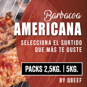Pack Barbacoa Americana  (2,5kg. – 5kg)