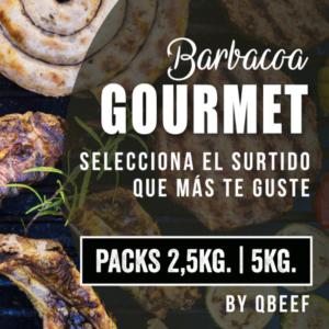Pack Barbacoa Gourmet (2,5kg. – 5kg.)