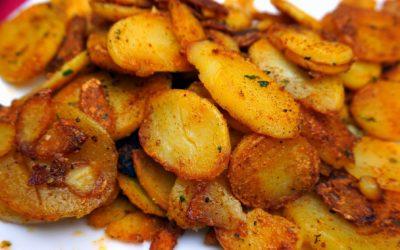 Patatas gajo al estilo Cajún (Patatas deluxe)