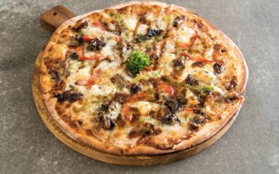 Pizza de Cerdo a la Barbacoa (Pizza BBQ Pulled Pork)